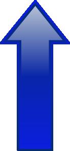 Arrow-up-blue PNG Clip art