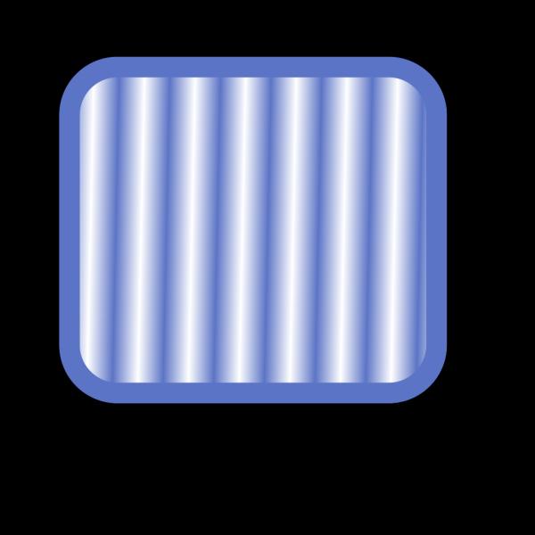 Square Blue  Button PNG Clip art