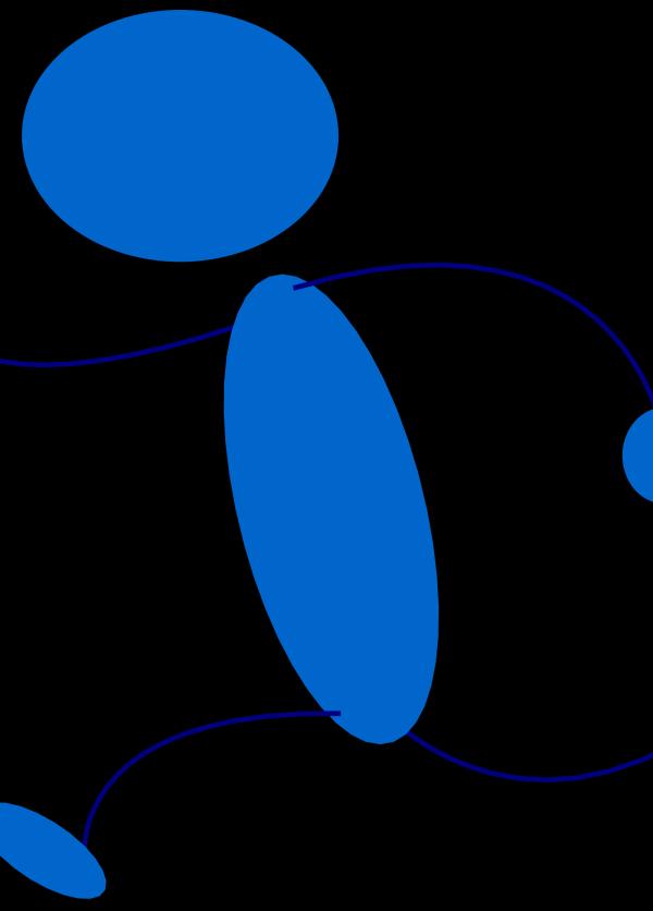 Blueman PNG Clip art