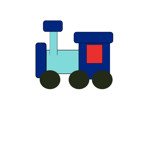 Kiddy Train PNG images