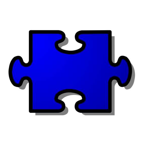 Jigsaw Red PNG icon