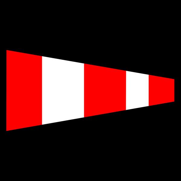 International Maritime Signal Flag 2 PNG Clip art