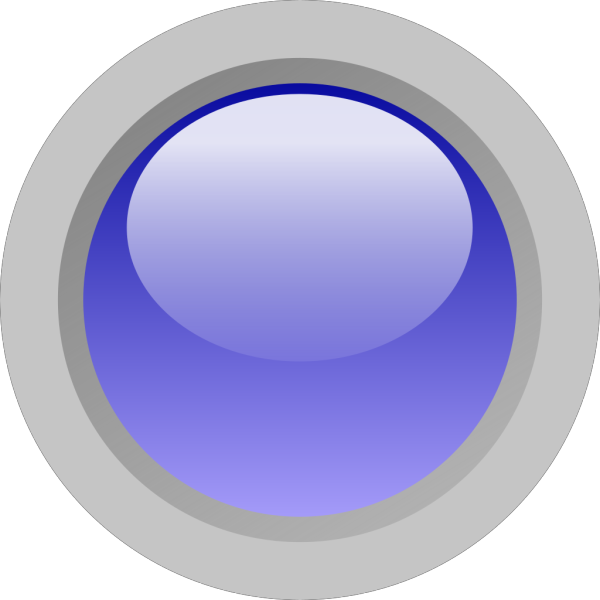Led Circle (blue) PNG image