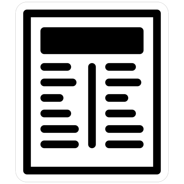 Led Rectangular H (blue) PNG Clip art