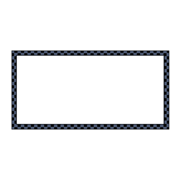 Worldlabel Com Border Dark Blue Black Checkered X PNG Clip art