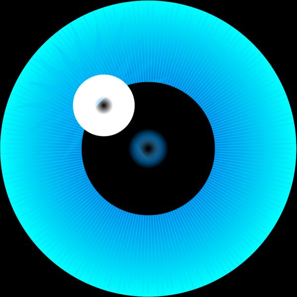 Blue Eye Iris PNG Clip art