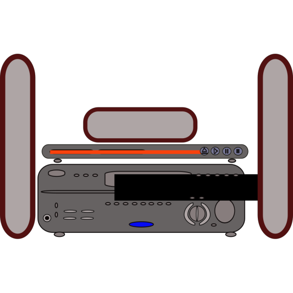 Home Theater PNG Clip art