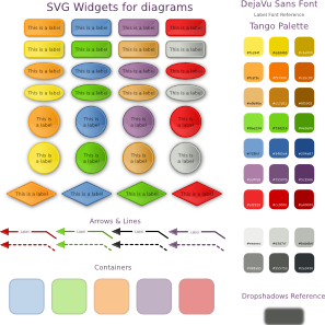 Boxes For Diagram PNG Clip art