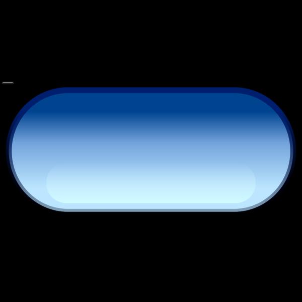 Pill button blue Clip art