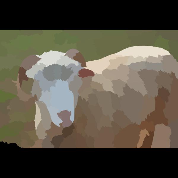Ram Headed Horsehead PNG Clip art