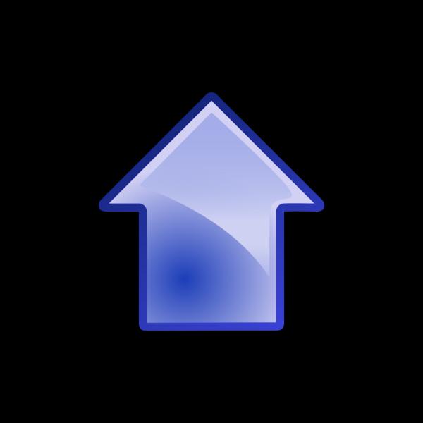 Arrow Blue Up PNG Clip art