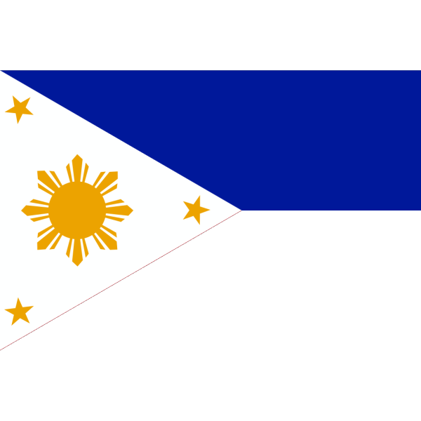 Philippines Flag PNG clipart