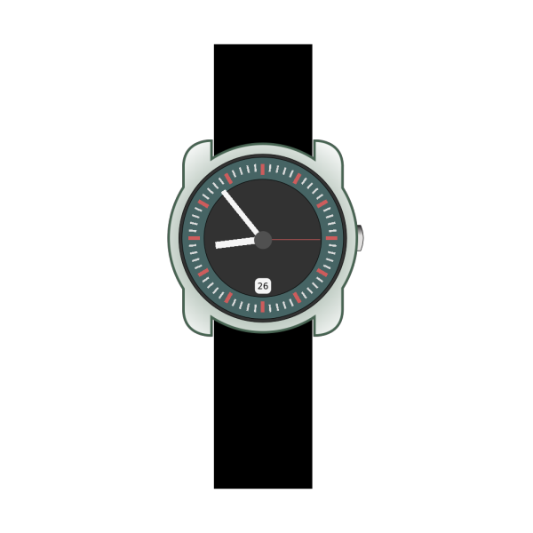 Analog Wristwatch PNG Clip art