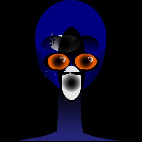 Alien Face PNG Clip art