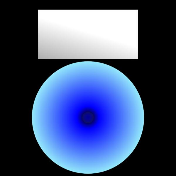 Mp3 Player Blue Light PNG Clip art