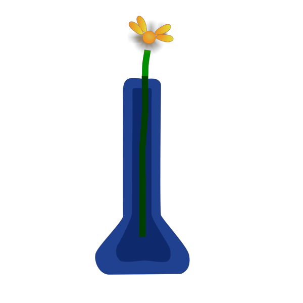 Violetsprite Flower In Vase PNG icon