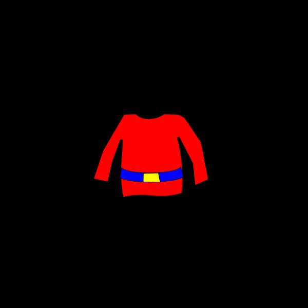Shirt Outline PNG Clip art