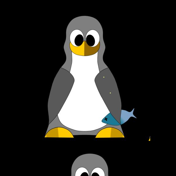 Tux Penguin PNG Clip art