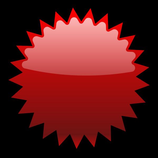 Noonespillow Basic Starburst Badge PNG Clip art