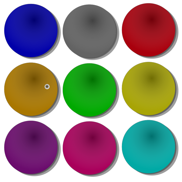 Game Marbles Cubes PNG Clip art