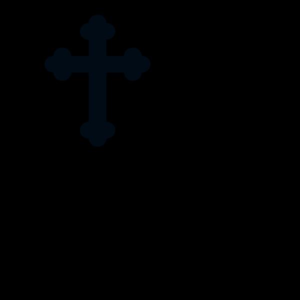 Blue Cross PNG Clip art