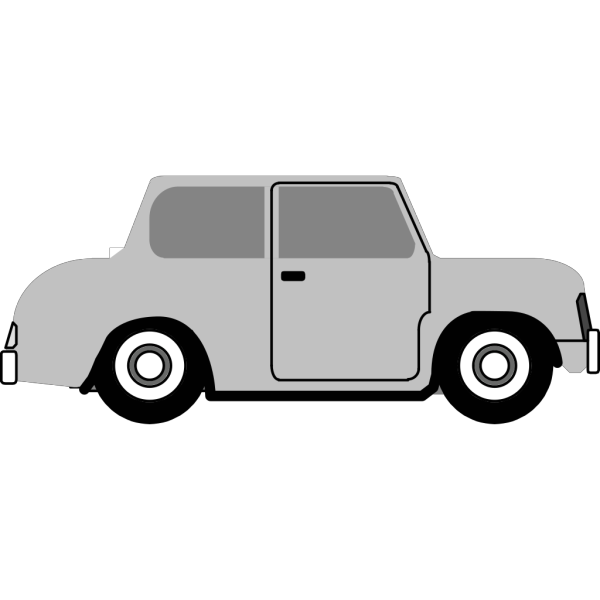 Vintage Old Cartoon Car PNG Clip art