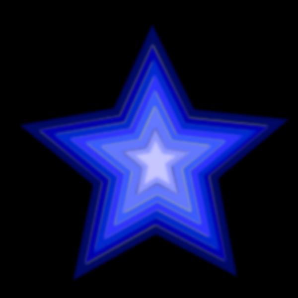 Stars Simple PNG Clip art