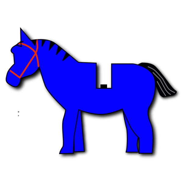 Horse Lego PNG clipart