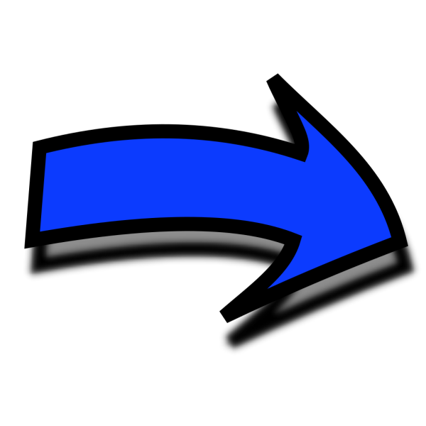 Comic Right Arrow PNG Clip art