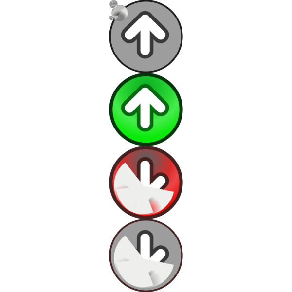 Arrow Set With Deep PNG Clip art