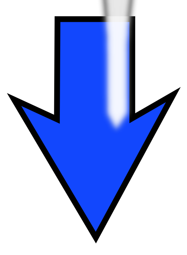 Arrow Set Smooth Left Blubbly PNG images