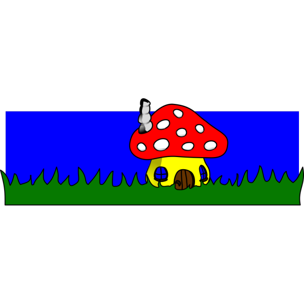 Mushroom Home PNG images