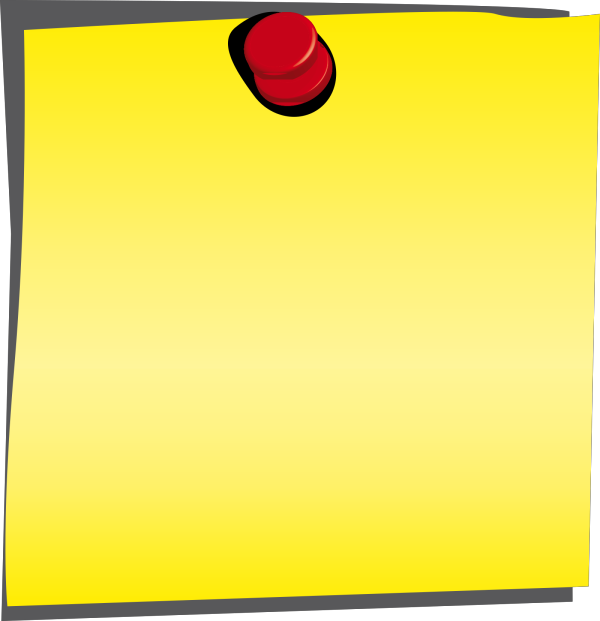 Post It PNG Clip art