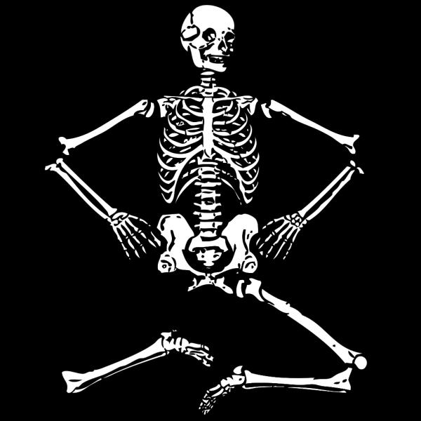 Human Skeleton PNG icon