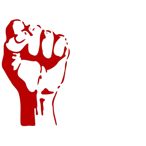 Raised Fist PNG Clip art