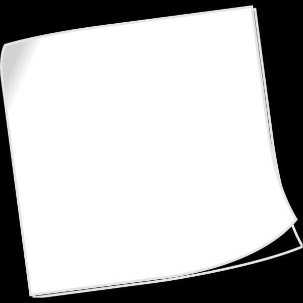 Blank Sticky Note PNG Clip art