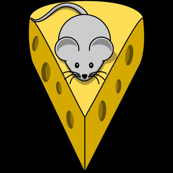 Simple Cartoon Mouse PNG Clip art