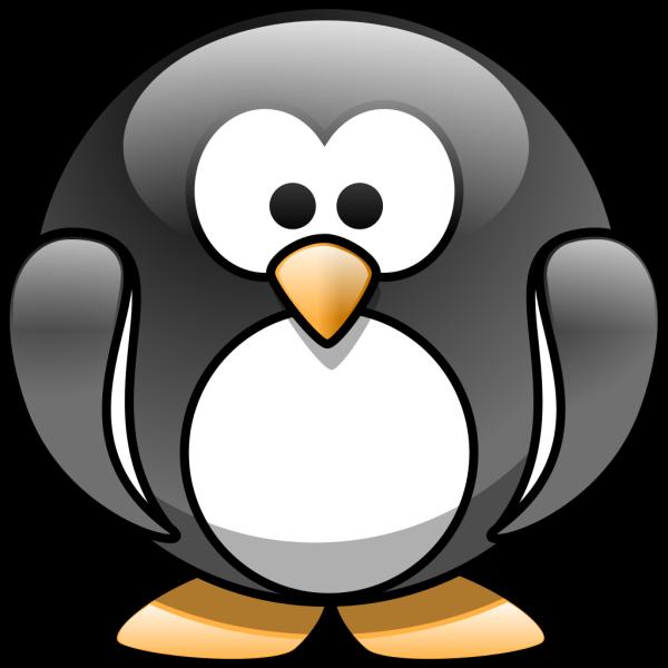 Cartoon Penguin 2 PNG Clip art