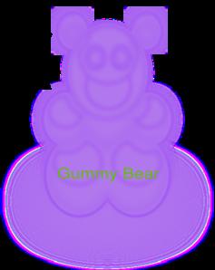 Gummy Bear  PNG Clip art