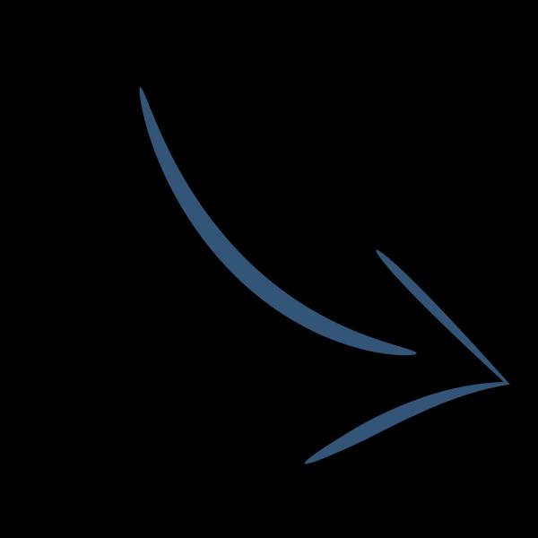 Blue Right Arrow PNG Clip art