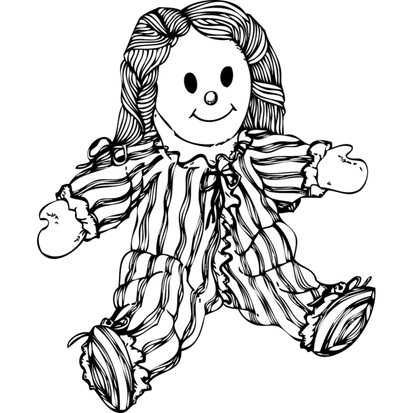 Stuffed Doll PNG Clip art
