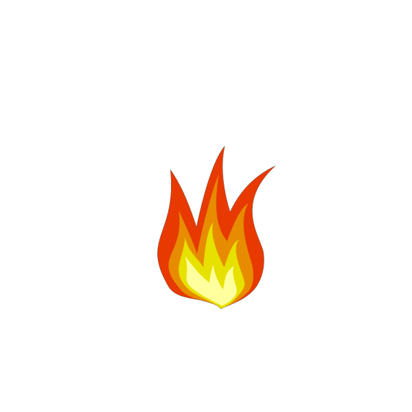 Flame 1 PNG Clip art
