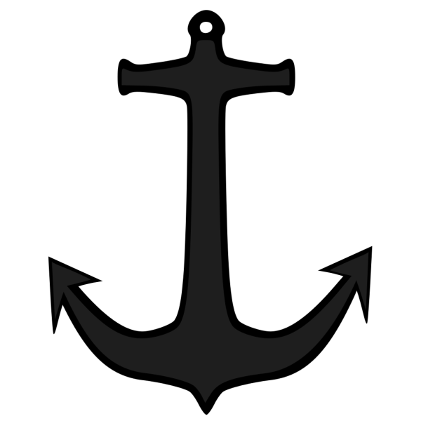Simple Anchor PNG Clip art