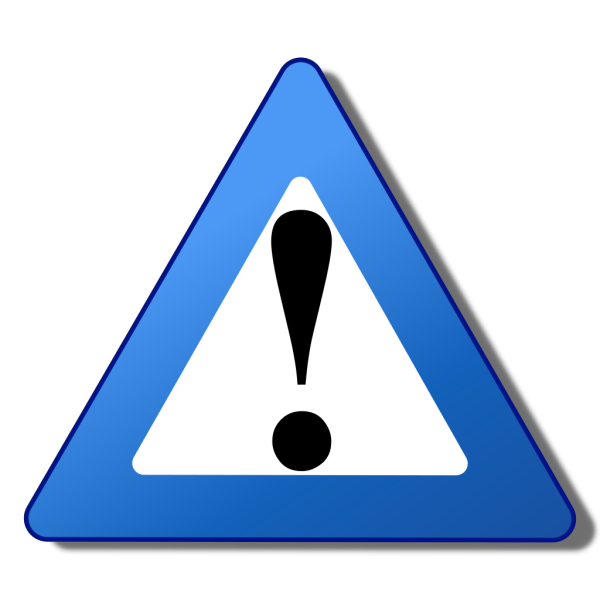 Ambox Warning Blue PNG Clip art
