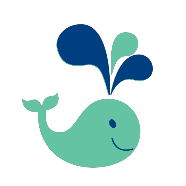 Small Whale PNG Clip art