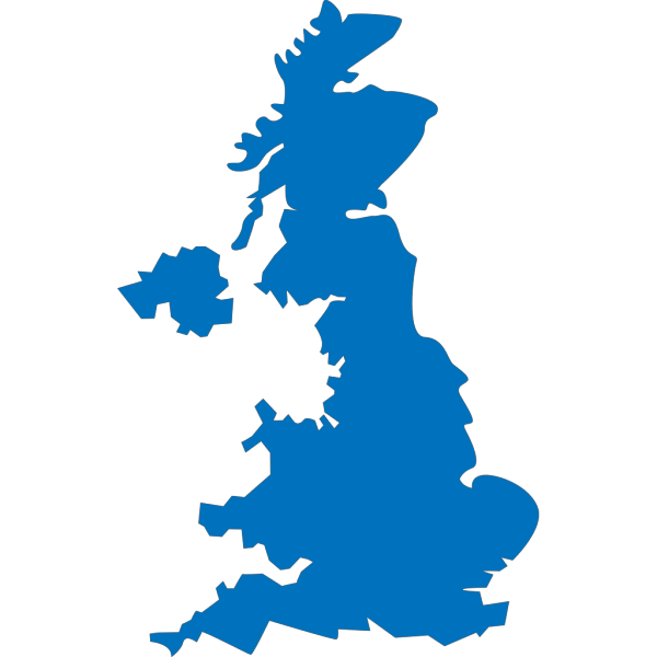 United Kingdom Map PNG images
