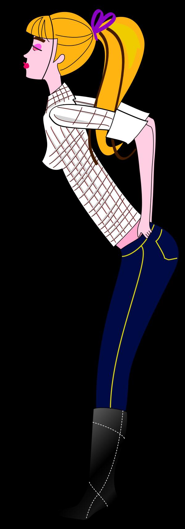 Blue Jeans PNG Clip art