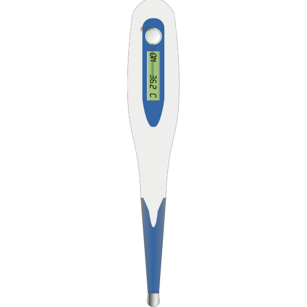 Digital Clinic Thermometer PNG Clip art