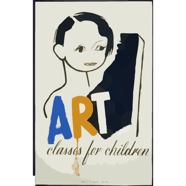 Art Classes For Children PNG icons