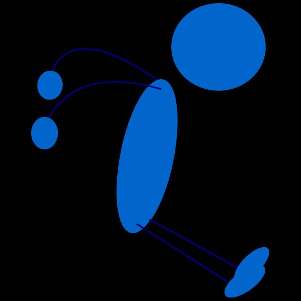 Stickman Jump Clip art
